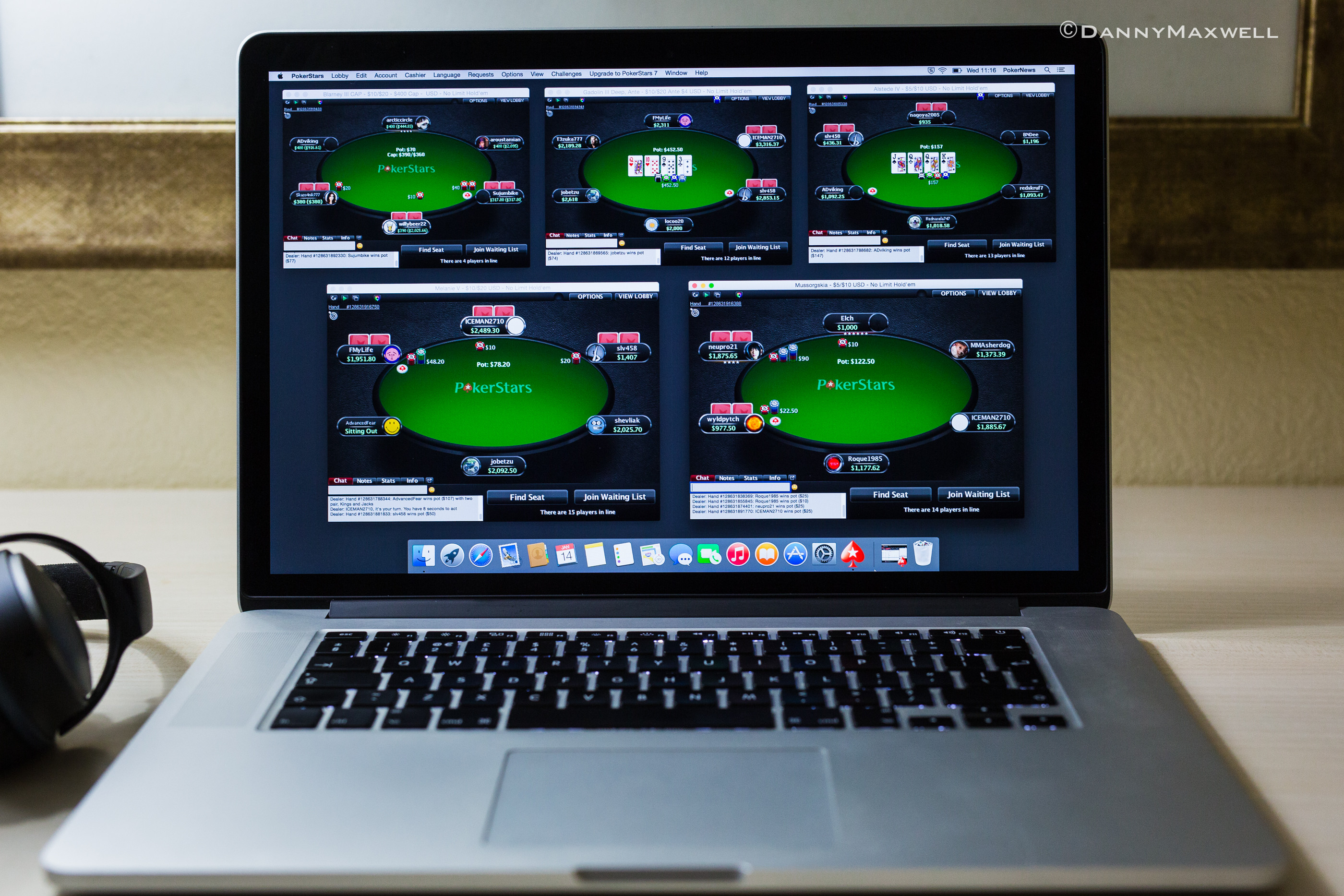 The Availability of Poker Tables